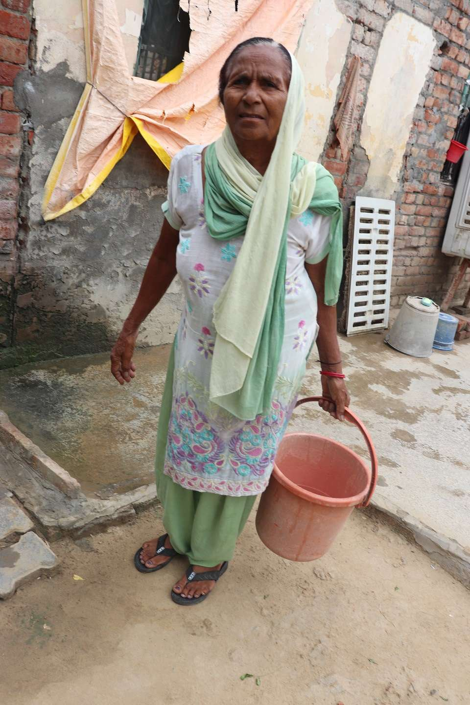 Image 6 Woman Koylatpur Village