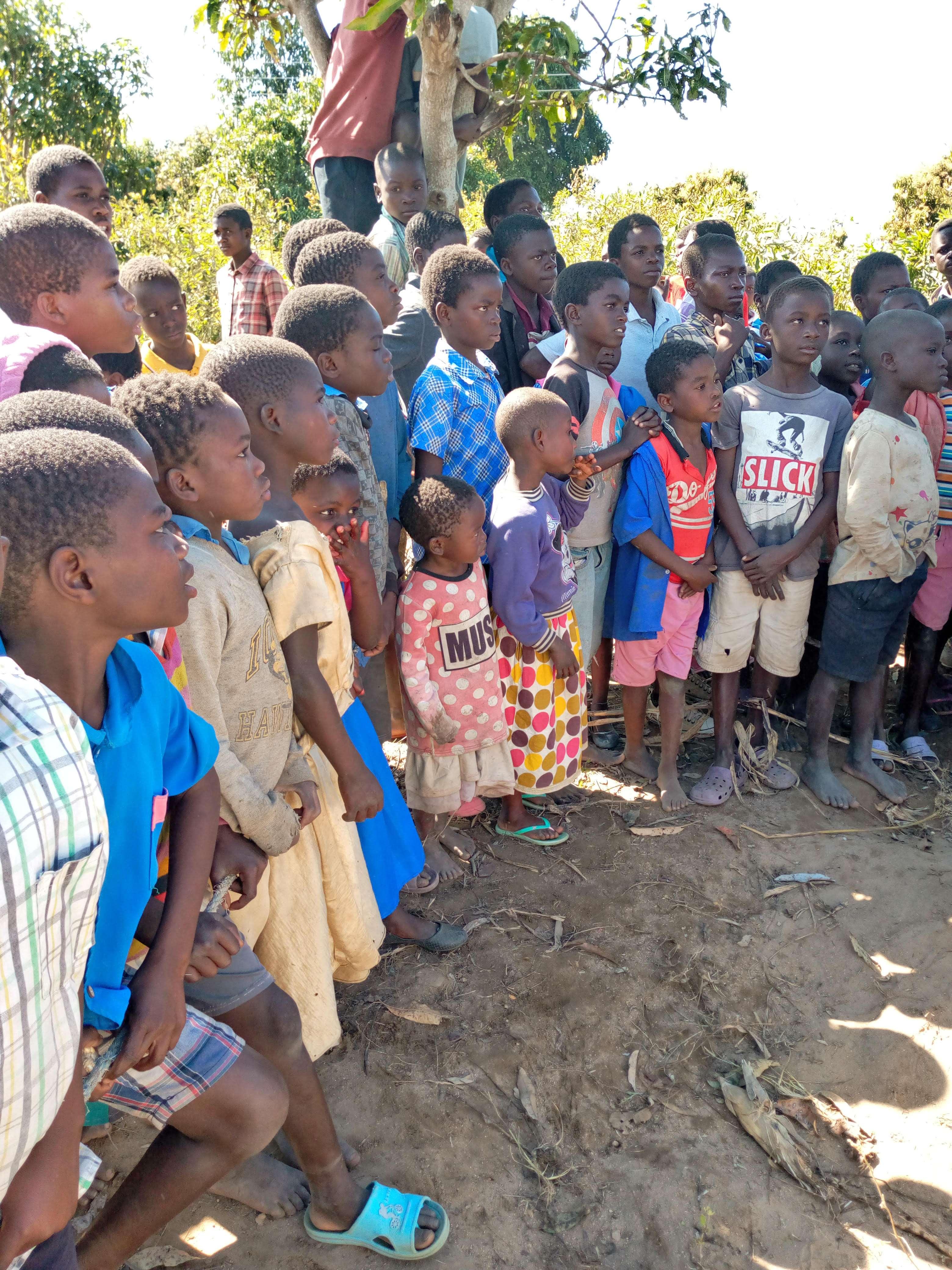 Image 5 Kids watching drilling